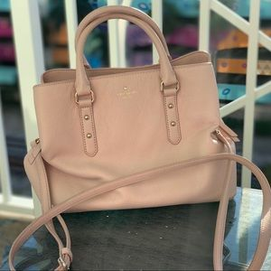Kate Spade Larchmont Ave Evangelie Leather Satchel